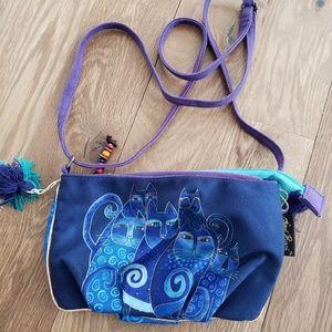 Laurel Burch cat purse